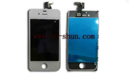 Witte LCD Vervanging voor iphone 4S LCD + Volledige Touchpad